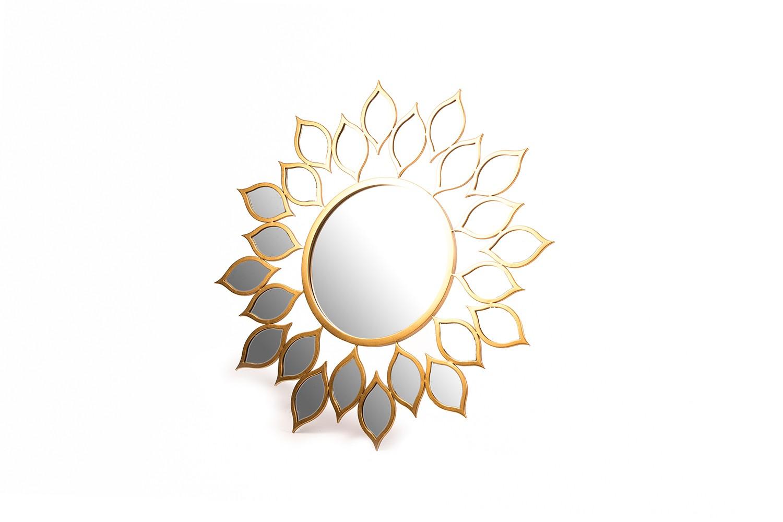 Miroir en métal doré - TB3662